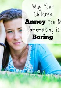 children-annoy-homemaking-boring
