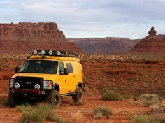 Sportsmobile Custom Camper Vans - 4x4  Photographer's version.  Not the old Land Cruisers I love but it's tempting!