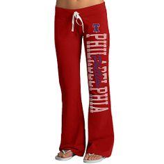 Philadelphia Phillies Women's Pep Rally Pants by '47 Brand