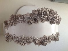 Gorgeous bed crown available for custom ordering by SalonTiffani, $499.00