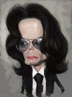 Caricature Collection: Michael Jackson