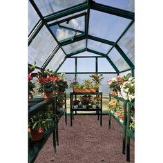 palram balance 8' x 12' hobby greenhouse - green   home ... - 12 Coole Hangende Stuhle Hangematten Kinder