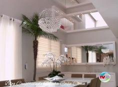 Casa com Decoração Perfeita, Sofisticada e Toques Coloridos!!! Sonho!