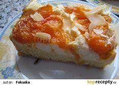 Meruňkové řezy s tvarohem recept - TopRecepty.cz Dairy Free, Gluten Free, Baked Potato, Rum, Mashed Potatoes, Cheesecake, Dinner Recipes, Food And Drink, Eggs