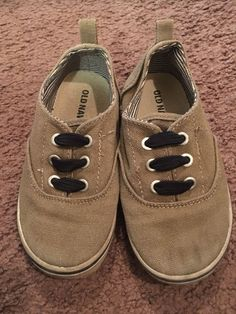 bc1805e953c Old Navy Tan Laceless Kids Shoes Size 9  fashion  clothing  shoes   accessories