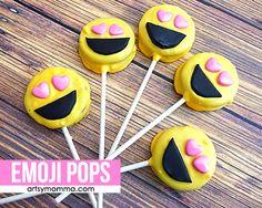 Emoji Oreo Pops Tutorial