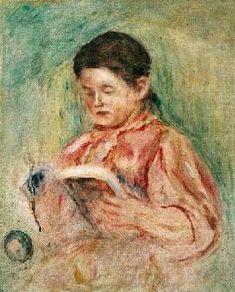 Pierre-Auguste Renoir - Reading