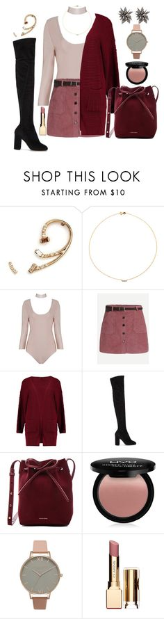 """Color Code of the Moment; Rose Tones"" by maggiesinthemoon ❤ liked on Polyvore featuring Xiao Wang, Sole Society, Boohoo, Dolce&Gabbana, Mansur Gavriel, NYX, Olivia Burton, Clarins and Alexis Bittar"