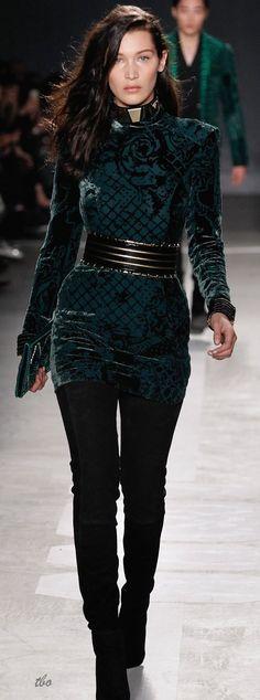Balmain x H&M Runway 2015