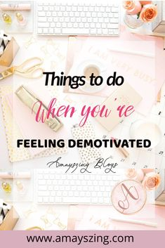 Things to do when you're feeling Demotivated Feeling Lost, How Are You Feeling, Self Development, Personal Development, Motivate Yourself, Improve Yourself, Things To Do When Bored, Self Improvement Tips, Setting Goals