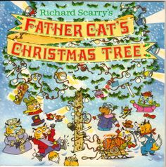looking for goldbug Christmas Reading (Part – A Festive Book List from Handwork Homeschool Best Christmas Books, Childrens Christmas Books, Cat Christmas Tree, A Christmas Story, Christmas Fun, Childrens Books, Richard Scarry, Winter Kids, Book Images