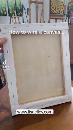 Mini Canvas Art, Diy Canvas, Photo Canvas, Canvas Wall Art, Art Studio Room, Clay Wall Art, Diy Crafts To Do, Acrylic Pouring Art, Mixed Media Canvas