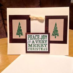 Handmade Brown and White Holiday or Christmas by MonkeyCookies, $4.99 Monkey Cookies, Very Merry Christmas, Central Florida, Local Artists, Joy, Invitations, Brown, Frame, Holiday