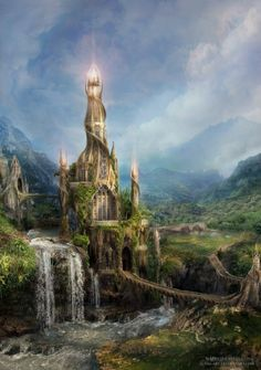 fantasy architecture | Fantasy Architecture Art, Pictures, Images