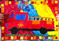 Year 2 Vroom! - These are some of the recently completed compositions by Year 2.