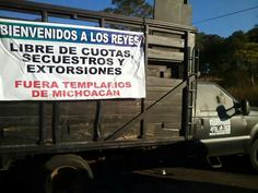"""""""El presidente manda a su comisionado y se alían con los grupos de autodefensa, y después los traicionan, los criminalizan"""" Leticia Garcia #MichoacanenAcatlan"""