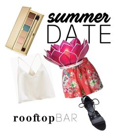 """""""Summer date"""" by dodo9541 on Polyvore featuring LE3NO, Estée Lauder, Thomas Wylde, Cultural Intrigue, summerdate and rooftopbar"""