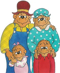 "The Berenstain Bears. spent most of my childhood with them. read about their lives every night, and still remember almost all the stories. ""In a big treehouse down a sunny dirt road deep in Bear Country. 90s Childhood, My Childhood Memories, Best Memories, Disney Viejo, Bernstein Bear, Pinturas Disney, 90s Nostalgia, 80s Kids, My Memory"