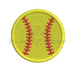 Softball Embroidery Designs Machine Embroidery Designs