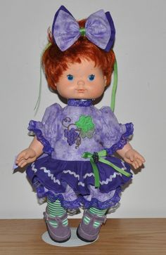 SSC Raisin Cane Outfit for Blowkiss Dolls.
