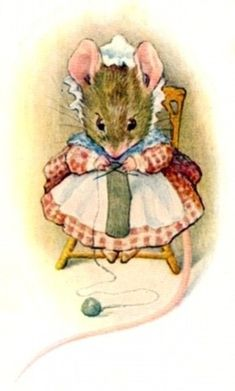 *Knitting mouse*