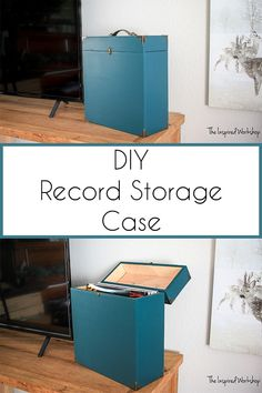 DIY Record Storage Case