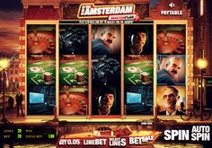 Ever felt like having a go at your own Ocean's eleven by trying to break the casino vault? The Amsterdam Master plan takes you into one of the wealthiest casinos in the Dutch Capital and gives you the chance to take 3 characters and try and hit the real jackpot, and we are not talking about a small one either!    Want to play The Amsterdam Master Plan? Register with Castle Casino today and claim your first deposit bonus courtesy of the house!
