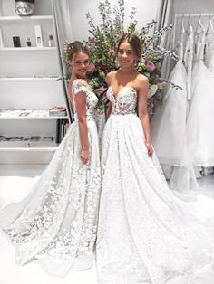 #BERTA perfection from our London Trunk show ♥ #weddinggowns