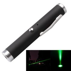 1mw+532nm+Green+Beam+USB+Laser+Stage+Pen,+Built-in+Battery