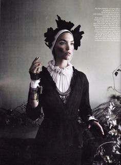 MARIO TESTINO FOR VOGUE UK SEPTEMBER ISSUE cuffs by House of Snowball