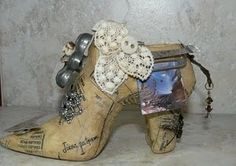 Love this altered shoe!