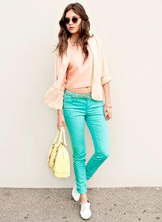 colored denim skinny jeans  denim denim denim