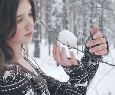 Snow Ball by longbeautifuldays.deviantart.com on @DeviantArt