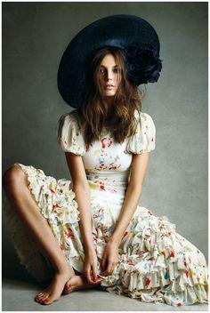 Daria Werbowy  Ralph Lauren – Vogue 2008  Patrick Demarchelier