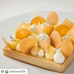 #Repost @bachour1234 with @repostapp  #Lime #Coconut and #Passionfruit tart photo by @juansilvaphotos form my class at @sicollege with @pavonitalia tart mold #bachour #theartofplating #chefstalk -#gastroart    #THEFrugalFoodie #FoodieFinds #FoodiePics #Foodies #Foodporn #Desserts #Sweets #Baking #FoodArt #Foodgram #Foodgasm #IGers #TheArtOfPlating #PhotoOfTheDay #FoodPhotography #FoodPics by ms_terree