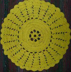 Virkattu matto / crochet carpet