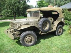 1942 Dodge WC56 WWII Command Car $22,000 [KY]
