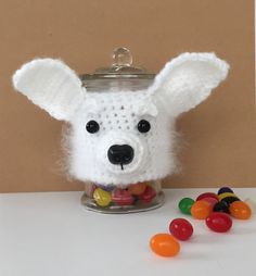 Chihuahua Candy~Treat Jar/Chihuahua Mom/Gift for Dog Lover/HookedbyAngel