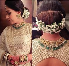 Wedding hairstyles with flowers updo the dress Super Ideas Indian Wedding Hairstyles, Bride Hairstyles, Hairstyles With Lehenga, Hairstyle Ideas, Wedding Hair Flowers, Flowers In Hair, Dress Wedding, Moda Indiana, Floral Hair