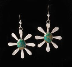 Turquoise Burst Earrings - Earrings - National Cowboy Museum