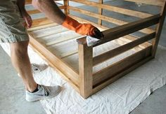 I'm going to show you how to build a super simple, yet beautiful swing bed for your porch. I've designed and built several of these, and they have become my favorite DIY project.Before you get started with this design, you might want to take a look at these plans for a different swing I designed and built.I designed this one to be easy to build and affordable. I was able to build this one for around $200. Of course, that price can vary based on what wood you choose to use and where you…