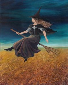 Hedge Riders:  #Flying #Witch.