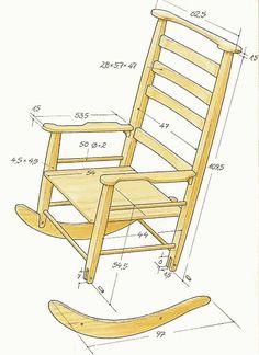 схема кресла качалки - Поиск в Google