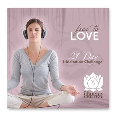 *NEW 21-Day Meditation Challenge Free to Love 4-CD set