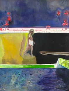 Peter Doig, I'm slightly obsessed with him at the moment. A fine contemporary painter.