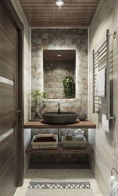 Washroom Design, Toilet Design, Bathroom Design Luxury, Modern Bathroom Decor, Bathroom Layout, Modern Bathroom Design, Bathroom Styling, Home Room Design, Home Interior Design