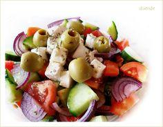 Horiatiki, vagyis görög saláta