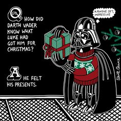 Star Wars + Christmas. Can it get much better?