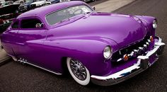 1950 Purple Mercury