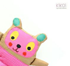 (9) Name: 'Sewing : Stuffed Animal Pattern - Softie teddy be